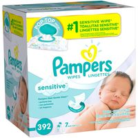 Pampers Baby Wipes Perfume Free