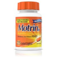 Motrin IB Pain Reliever and Fever Reducer Caplets - Ibuprofen (NSAID)