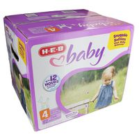 H-E-B Size 4 Baby Club Pack Diapers