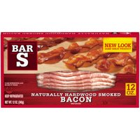 Bar S Sliced Bacon, 12 Oz.