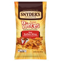 Snyder's Pretzel Pieces, Hot Buffalo Wing, 12 Ounce Bag
