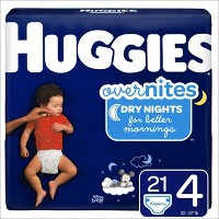Huggies Overnites Diapers Jumbo Pack - (Select Size)