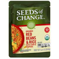 Seeds of Change Organic Red Beans & Brown Rice With Corn & Peppers