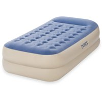 "Intex 18"" Twin Dura-Beam Standard Raised Pillow Rest Airbed Mattress"