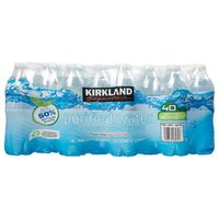 Kirkland Signature Purified Water with Minerals Added, 40 x 16.9 fl oz