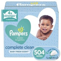 Pampers Wipes Complete Clean