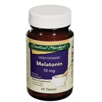 Central Market High Dosage Melatonin 10 Mg Tablets