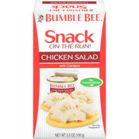 Bumble Bee Snack On The Run! Snack on the Run! With Crackers Chicken Salad