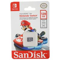 SanDisk Nintendo Switch 128GB Micro SD Card