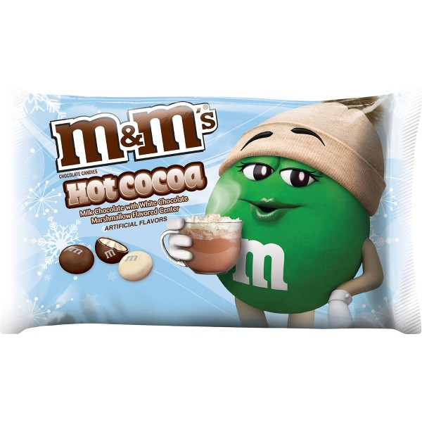 M&M's Holiday Hot Cocoa Milk Chocolate Candies - 8oz