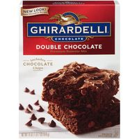 Ghirardelli Chocolate Double Chocolate Premium Brownie Mix