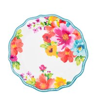 "The Pioneer Woman Melamine 10.75"" Breezy Bouquet Dinner Plate"