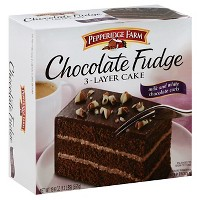 Pepperidge Farm Chocolate Frozen 3 Layer Cake - 19.6oz