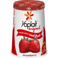 Yoplait Original Yogurt, Low Fat Yogurt, Original Strawberry, 6.0 oz