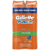 Fusion Fusion Ultra Sensitive Hydra Gel Men's Shave Gel Twin Pack