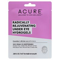 Acure Hydrogels, Under Eye, Single Use, Cucumber + Silk Tree