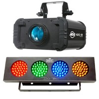 American DJ H2O IR LED Water 5 Colors Light and Chauvet Sound Activated Light