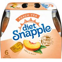 Diet Snapple Diet Peach Tea