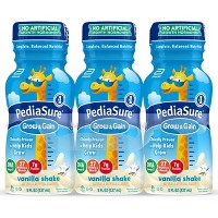 PediaSure Grow & Gain Kid's Nutritional Shake - Vanilla - 48 fl oz Total