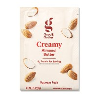 Creamy Almond Butter Squeeze Pack 1.15oz - Good & Gather™