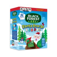 Black Forest Santa Snacks Christmas Fruit Snacks, 32 Count