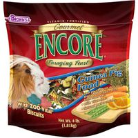 Brown's Encore Foraging Feast Guinea Pig Food