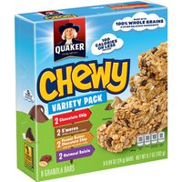 Quaker Chewy Granola Bars Variety Pack