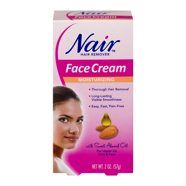 Nair Moisturizing Face Cream Hair Remover From Kroger In Dallas