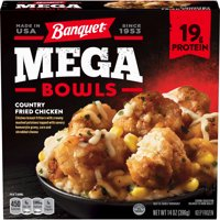Banquet Mega Bowls Country Fried Chicken 14 Ounce