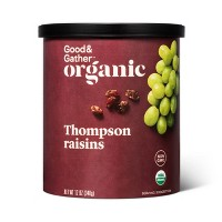 Organic Thompson Raisins - 12oz - Good & Gather™