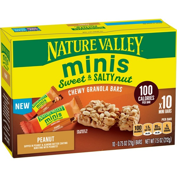 Nature Valley Sweet & Salty Minis Peanut - 10ct
