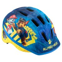 Nickelodeon's PAW Patrol Toddler Bicycle Helmet, ages 3 - 5, blue / yellow
