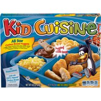 KID CUISINE Bikini Bottom Chicken Breast Nuggets Meal With Macaroni & Cheese, Corn, & Pudding 8.8 oz