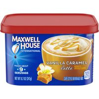 Maxwell House International Cafe Maxwell House International Vanilla Caramel Latte Café-Style Beverage Mix