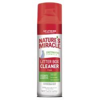 Natures Miracle Litter Box Cleaner Foam, Enzymatic Formula, 17.5 Oz