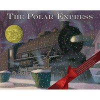 HMH Books for Young Readers Polar Express 30th Anniversary Edition Hardcover Book