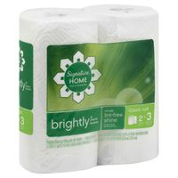 Signature Kitchens Paper Towels, Brightly, Giant Roll, Two-Ply