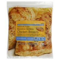 Signature Farms Boneless Skinless Chicken Breasts Portions With Rib Meat