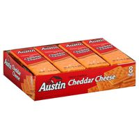 Austin Sandwich Crackers Cheddar Cheese on Cheese Crackers