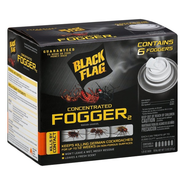 Black Flag Fogger2, Concentrated, 6 Pack