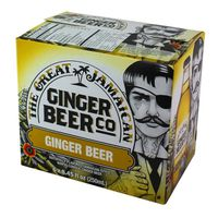 The Great Jamaican Ginger Beer Co. Ginger Beer - 6 CT