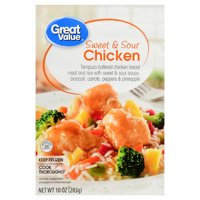 Great Value Frozen Sweet & Sour Chicken, 10 oz