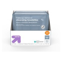 Basic Facial Cleansing Wipes - 50ct - Up&Up™
