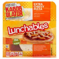 Oscar Mayer Lunchable Extra Cheesy Pizza