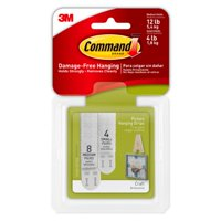 Command White Small & Medium Picture Hanging Strips Pack, 1 Each