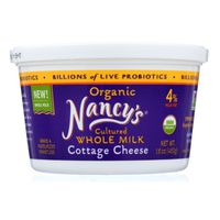 Nancy's Organic Cultured Whole Milk Cottage Cheese