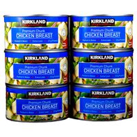 Kirkland Signature Canned Chicken Breast, 6 x 12.5 oz