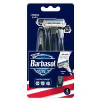 Barbasol Ultra 3 Razors - 4 CT