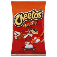 Frito Lay Cheetos Cheese Flavored Snacks, 3.75 oz