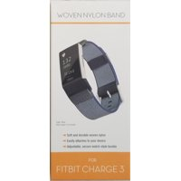 Fitbit Charge 3 Nylon Band, Blue